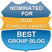 Click and Vote: http://edublogawards.com/2010awards/best-group-edublog-2010/