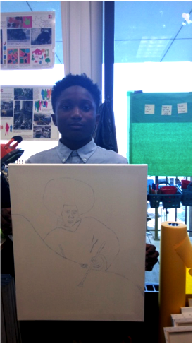 Malik Grey (6th grade Artist)